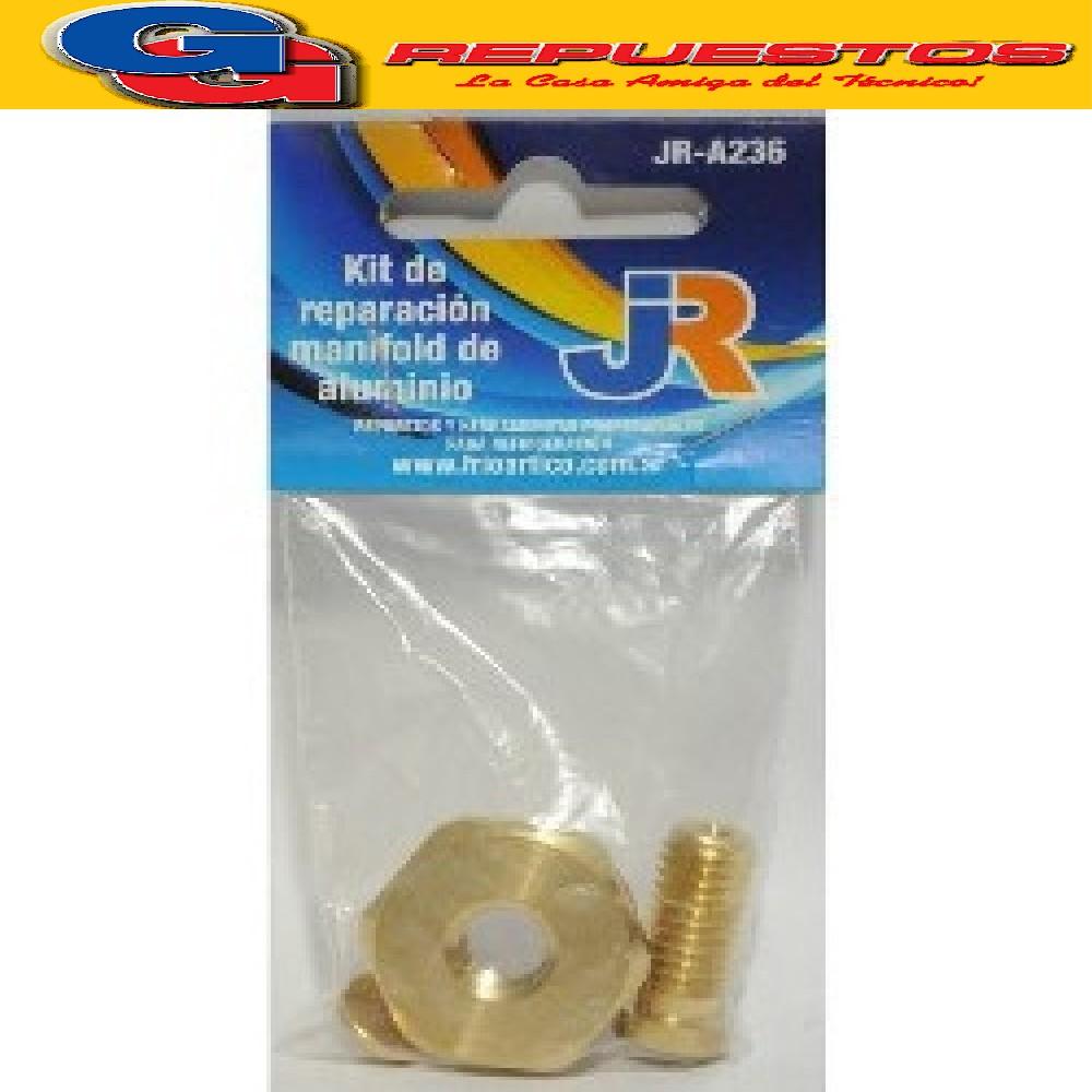 KIT DE REPARACION BRONCE MANIFOLD DE ALUMINIO JR-