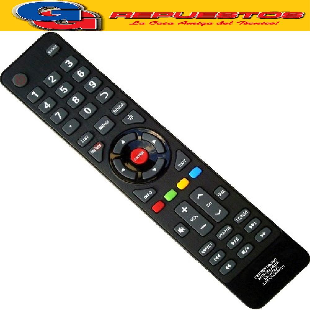 CONTROL REMOTO LED ADMIRAL RCA