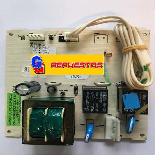 PLAQUETA  HELADERA GENERAL ELECTRIC NO FROST HGE455NF SIN DISPLAY-HGE450B/M- MABE HMA450B/M (UNIDAD CONTROL ORIGINAL) WG03F05603 (MABE) TARJETA ELECTR
