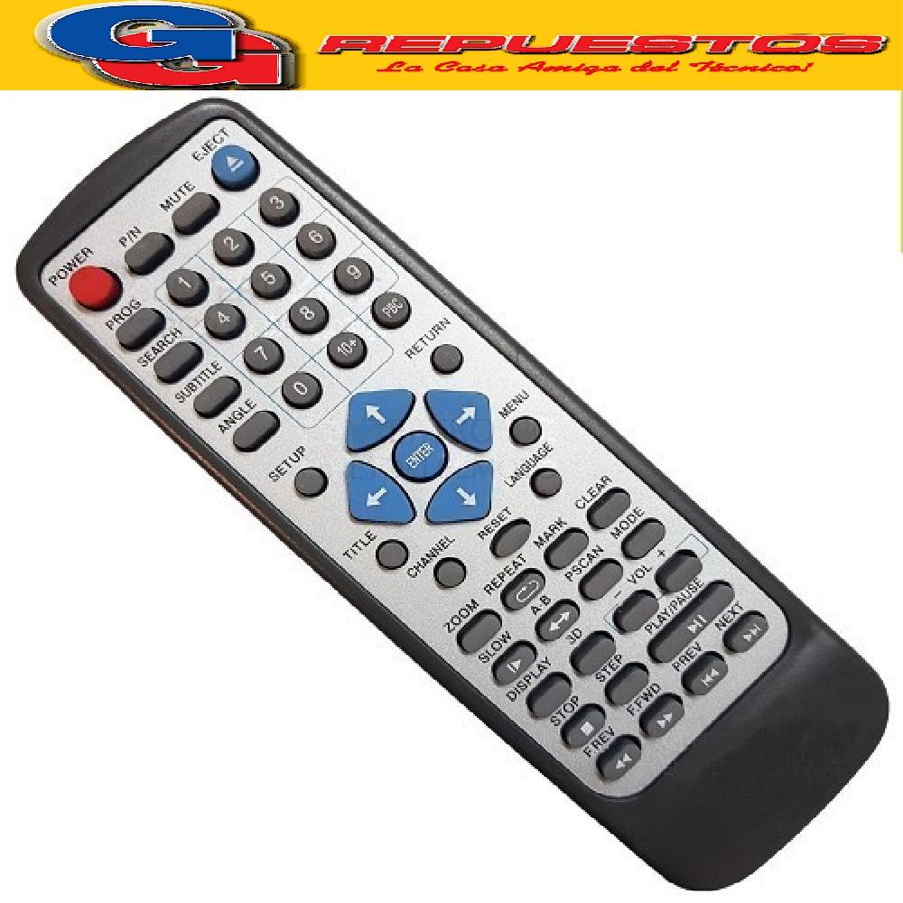 CONTROL REMOTO DVD STROMBER CARLSON  HYUNDAI  (2815) DVD802