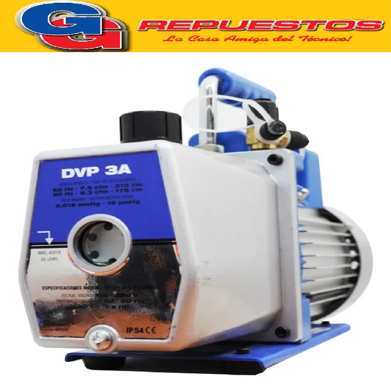 BOMBA DE VACIO DOSIVAC DVRII 170L/MINUTOS IMPORTADA 2 ETAPAS DVP3A APTA INVERTER
