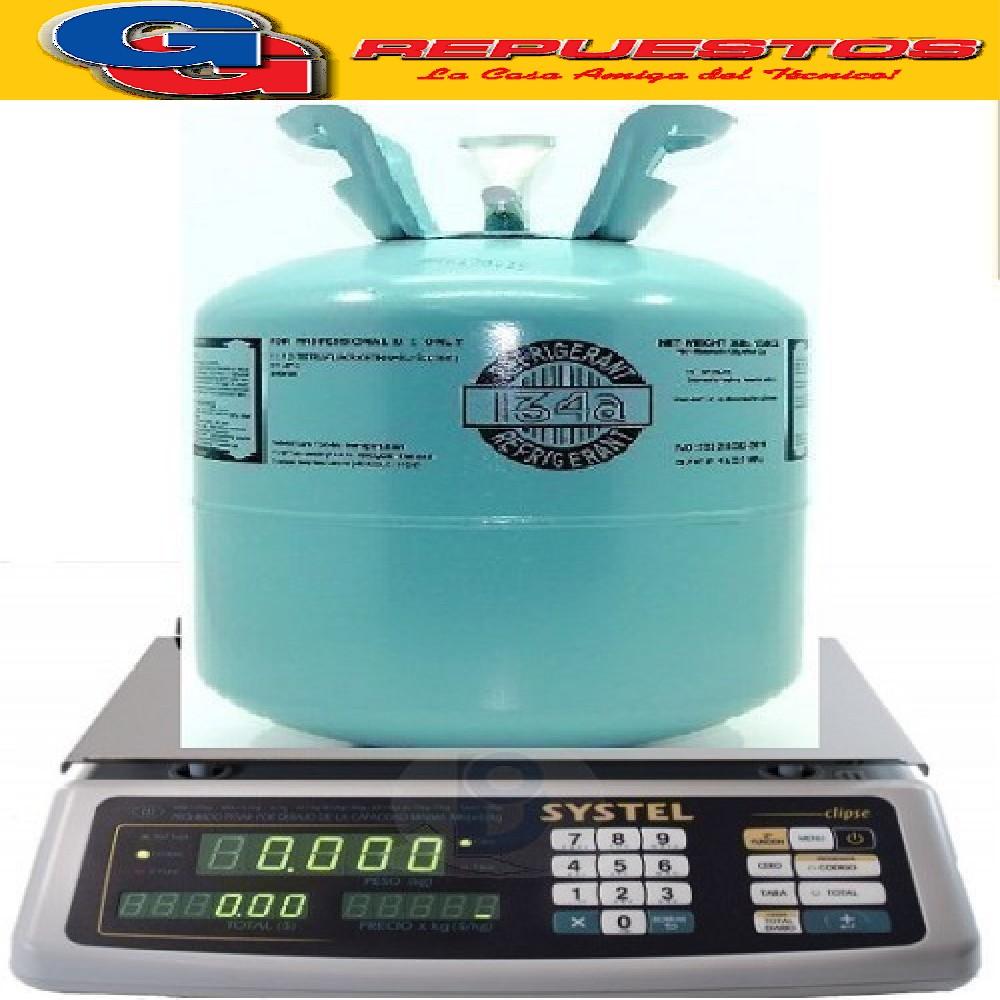 GAS R 134 x KG FRACCIONADO