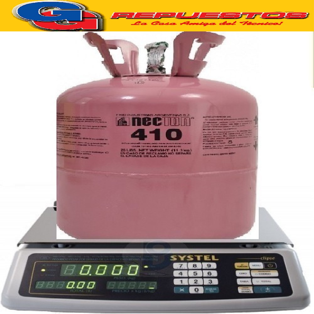 GAS R410 X KG FRACCIONADO