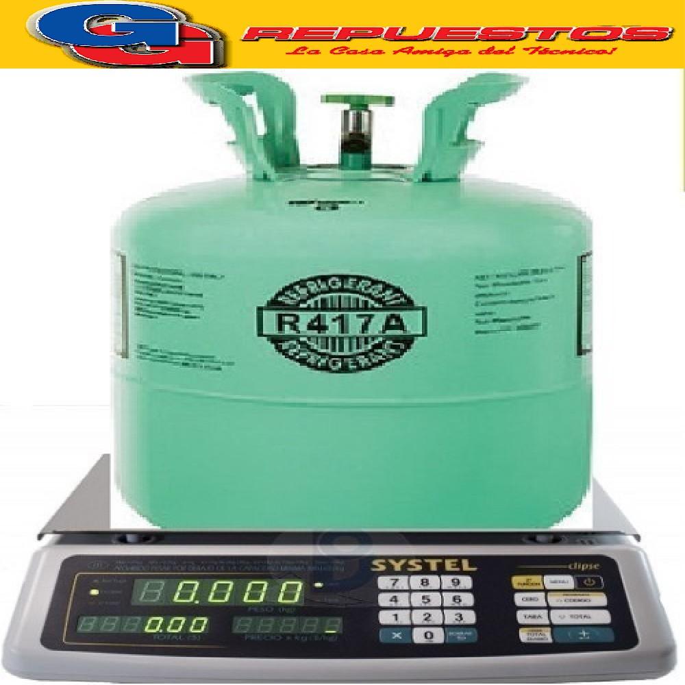 GAS UR22(R417) x KG FRACCIONADO REEMPLAZO DIRECTO DE R22