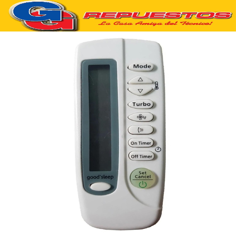 CONTROL REMOTO AIRE ACONDICIONADO SPLIT AR825 SAMSUNG