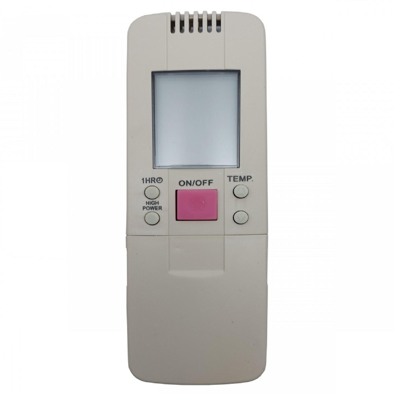 CONTROL REMOTO AIRE ACONDICIONADO SPLIT AR826  HISENSE BLUESKY RECCO SIGMA TOSHIBA MKTECH