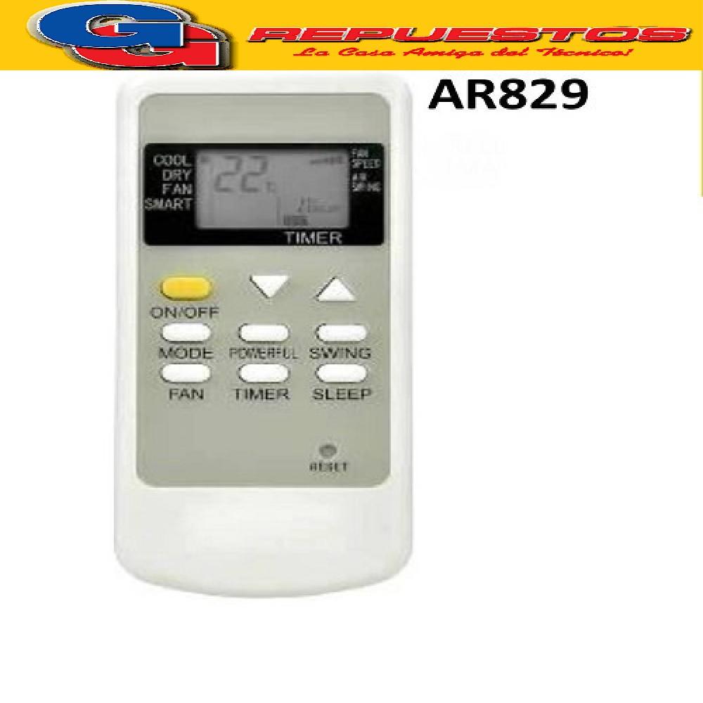 CONTROL REMOTO AIRE ACONDICIONADO SPLIT AR829 ATMA AIRFEL