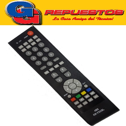 CONTROL REMOTO LCD LED TOP HOUSE  LCD492