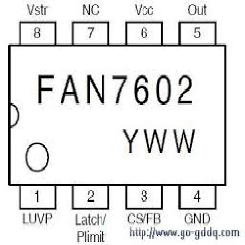 FAN7602BN CIRCUITO INTEGRADO