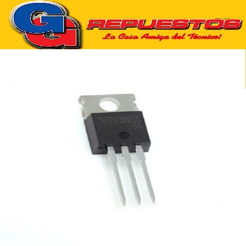 NTP75N06G TRANSISTOR MOSFET FET (60V/75A/9.5Mohms)