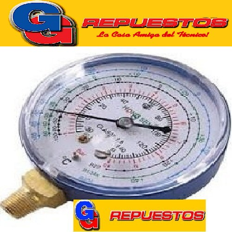 MANOMETRO BlueStar-1517L-baja-R134a/404a/507
