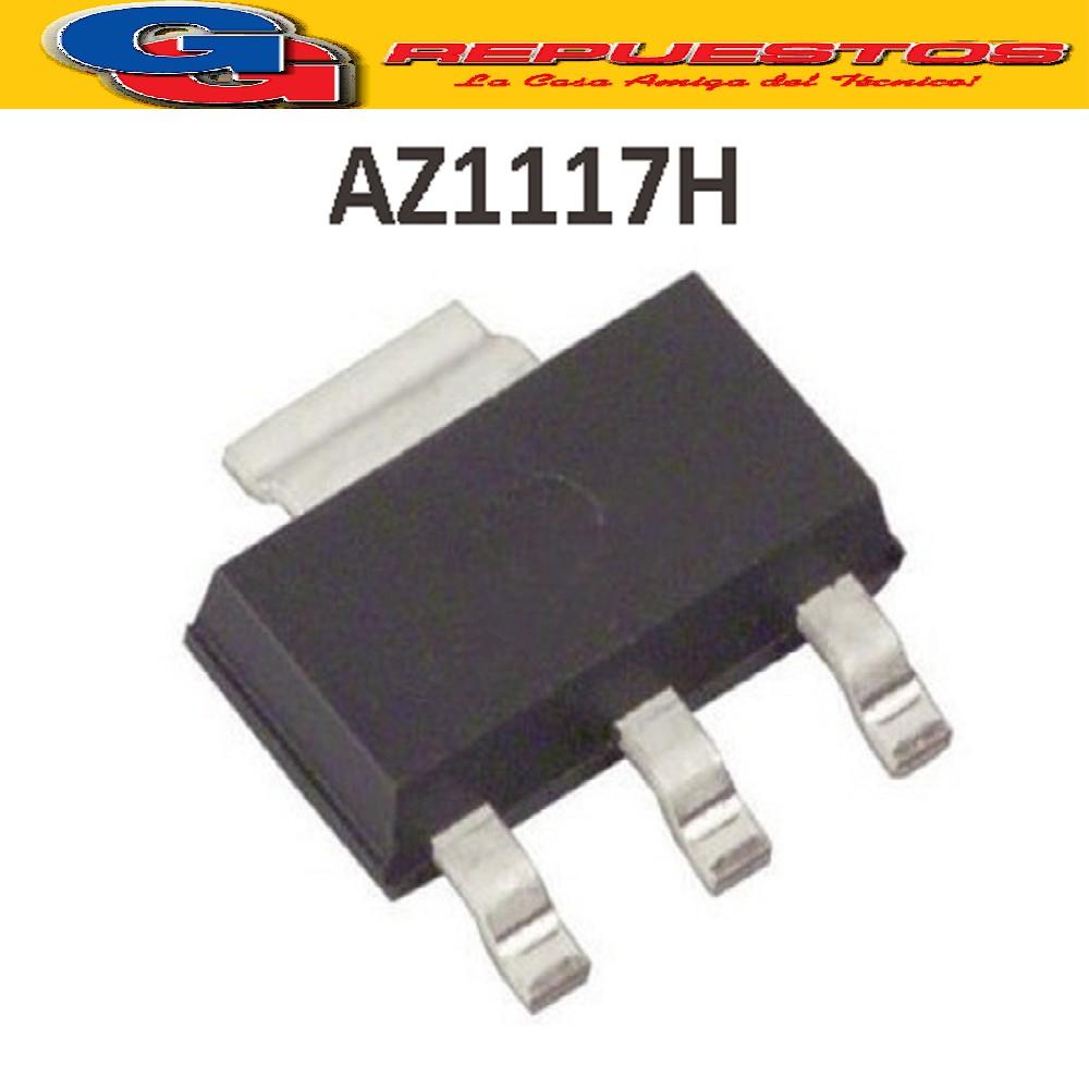 AZ1117H-1.8 / SOT 223 TRANSISTOR REEMPLAZO GH17L SMD AMS1117 1.8V