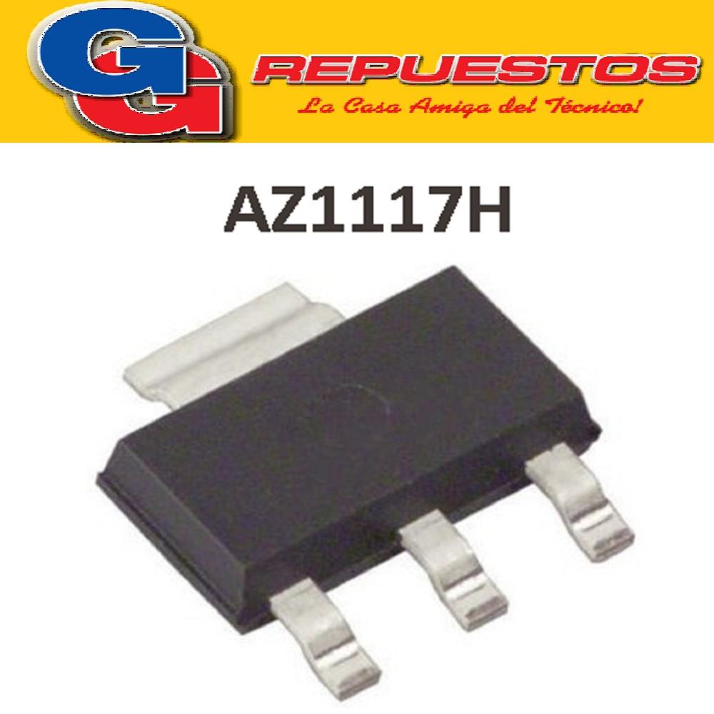 AZ1117H-3.3 / SOT 223 TRANSISTOR REEMPLAZO GH17M SMD AMZ1117 AMS1117 3.3V