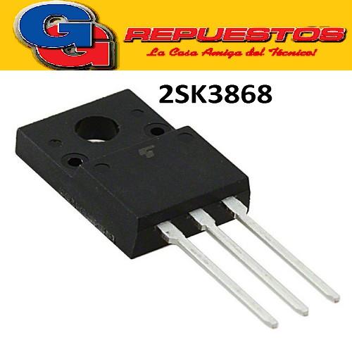 2SK3868 / TO-220FP TRANSISTOR MOSFET FET (500V/5A/35W/1.3 Mohms)
