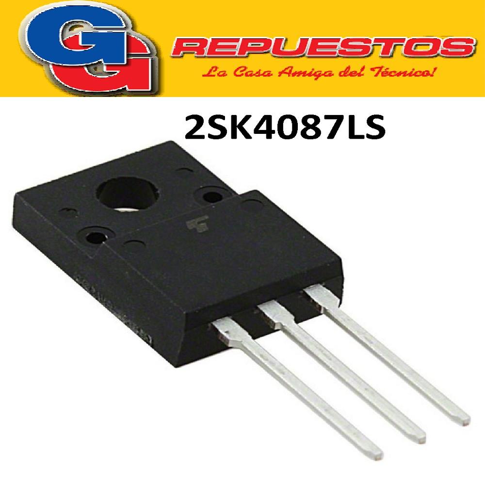 2SK4087LS / TO-220F TRANSISTOR MOSFET FET