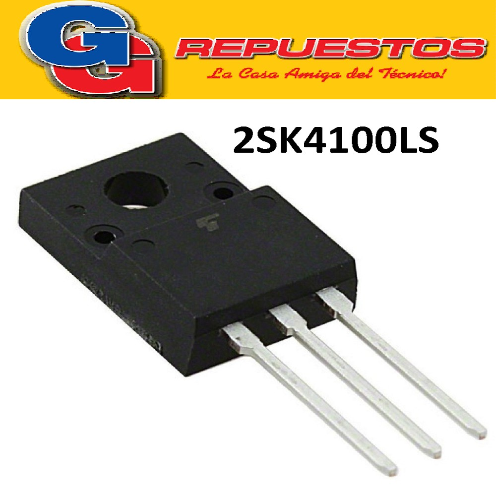 2SK4100LS / TO-220F TRANSISTOR MOSFET