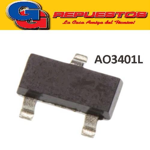 AO3401L TRANSISTOR SMD (A12E)