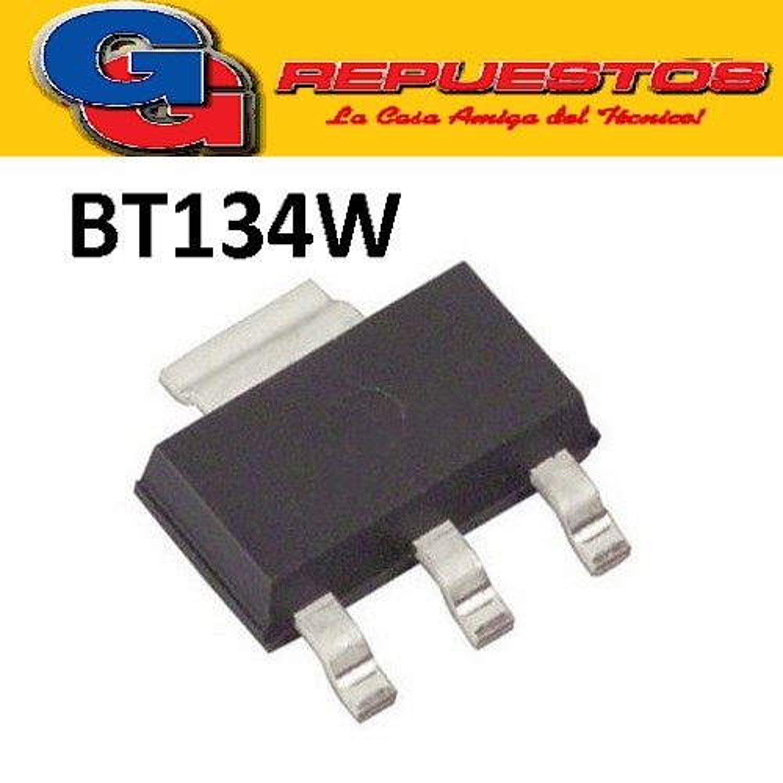 BT134W-600 TRIAC SMD (600V/1A) SOT-223