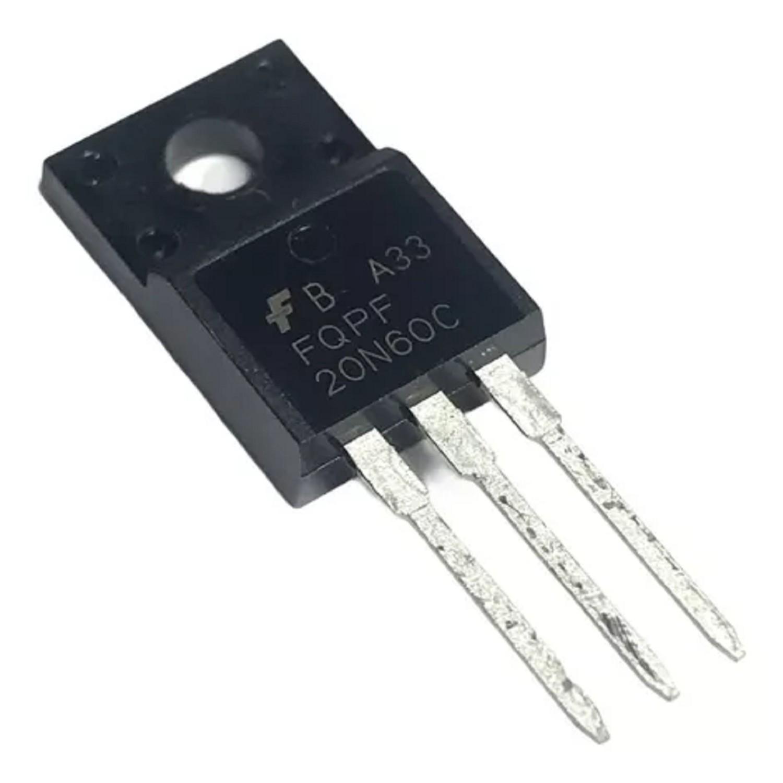 TRANSISTOR FET 20N60 20A 600V
