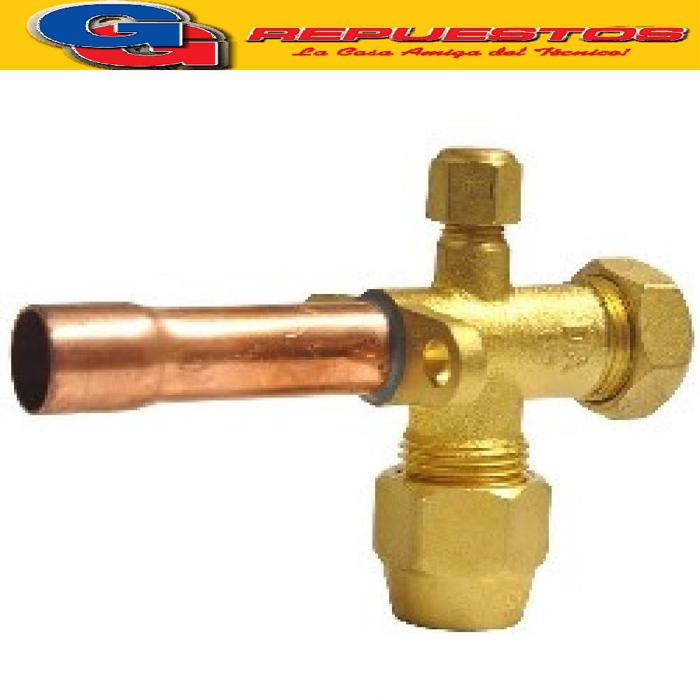 ROBINETE VALVULA SPLIT 5/8 RECTO PARA R410.