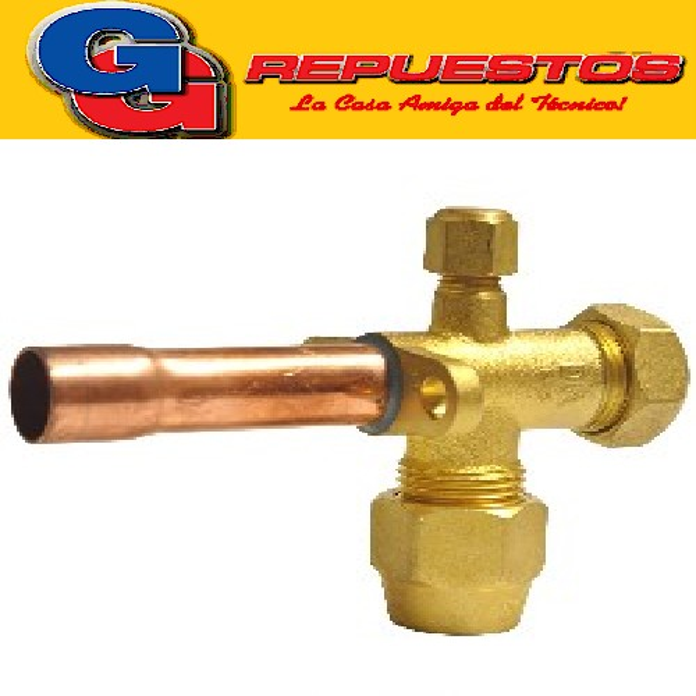 ROBINETE VALVULA  SPLIT 3/4 RECTA PARA R22