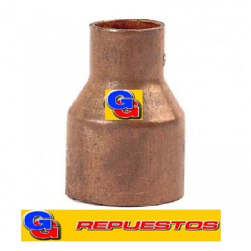 Uniones de cobre reduccion PARA SOLDAR -7/8 x 3/8--