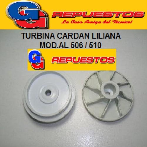 TURBINA CARDAN  LICUADORA LILIANA MODELO AL 506 / 510
