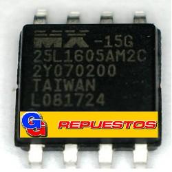 MX25L1605 CIRCUITO INTEGRADO SMD