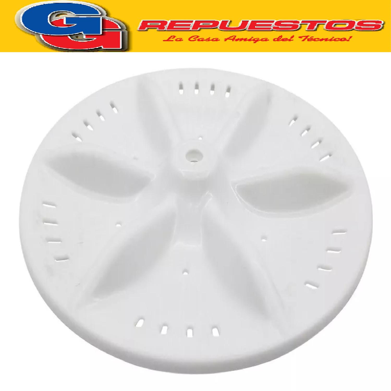 AGITADOR Turbina DREAN Concept Unicom/Electron/FuzzyLogic LEG IMPULSOR DE SEGUNDA USADAS, DIAMETRO 29 CM