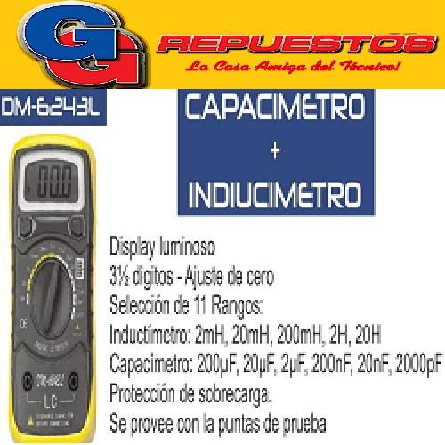 CAPACIMETRO DM6243L INDUCIMETRO
