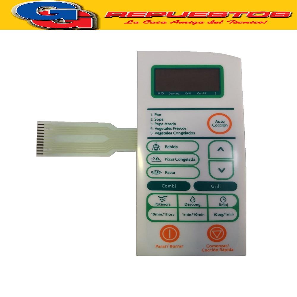 TECLADO MICROONDAS MD228 DAEW KOR6Q2B/ ESLABON DE LUJO EMG26