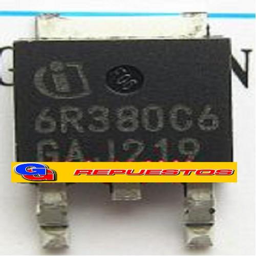 IPD6R380C6 TRANSISTOR SMD