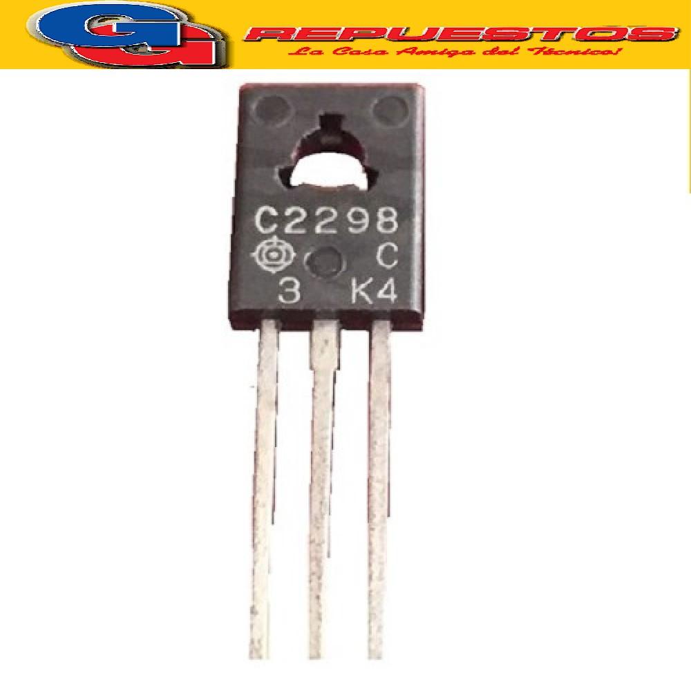 2SC2298 TRANSISTOR NPN 30V / 1A / 800MW