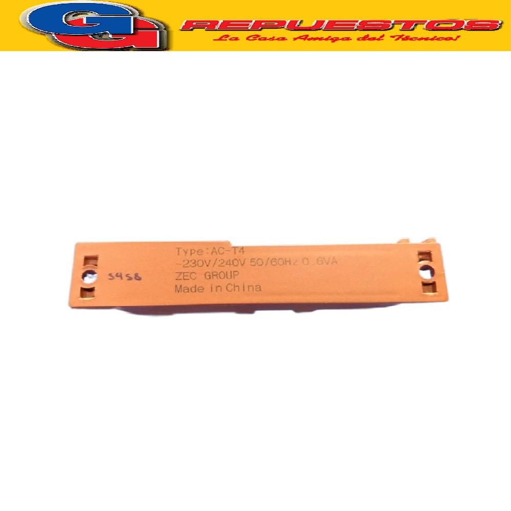 ENCENDIDO ELECTRONICO COCINA 4 SALIDAS E3A (COC 37) LARGO TOTAL 11 CM, ALTO 3.3 CM , ANCHO 2.2 CM
