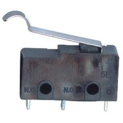 MICROSWITCH  5A 250V P/Cable Leva Curva