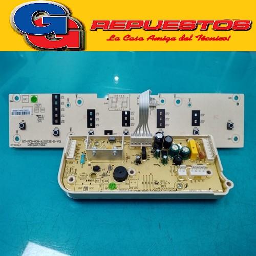 PLAQUETA LAVARROPAS  ELECTROLUX FUZZY WASH SIN DISPLAY MIRIAN DIGITAL WASH