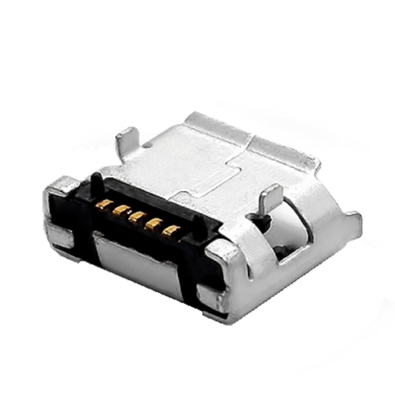 CONECTOR MICRO USB HEMBRA PARA SMARTPHONES Y TABLET (MONTAJE F)