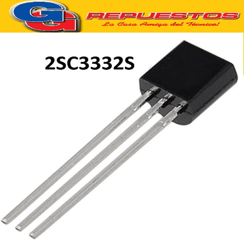 2SC3332S TRANSISTOR BIPOLAR NPN 160V / 700MA / 700MW