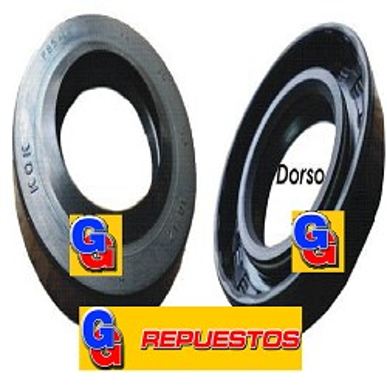 RETEN 30x52x10/12 IMPORTADO PARA LAVARROPASA LONGVIE SMART L8012-L8010 de 8Kg/1000rpm-L6510 de 6.5kg/1000rpm-L6508 6.5kg/800rpm (SAMRTWASH HD) ELECTROLUX ZANUSSI EW1000 (914654504) 2 serie y (914654513) 3serie Note descrittive: Dimensioni mm.