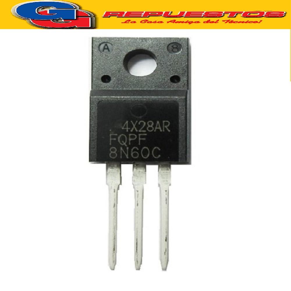 8N60FI TRANSISTOR FET CANAL N 600V/7.5A/1.2R