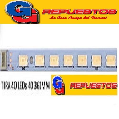 TIRA DE 40 LED PARA TV LED 73.31T14.004-5-DS1 31T14-07 40 LED 361MM