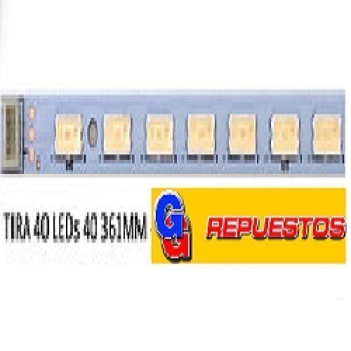 TIRA DE 40 LED PARA TV LED 73.31T14.004-5-DS1 31T14-07 40 LED 361MM