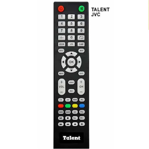 CONTROL REMOTO TV LED TALENT-JVC 3874 (LCD505)