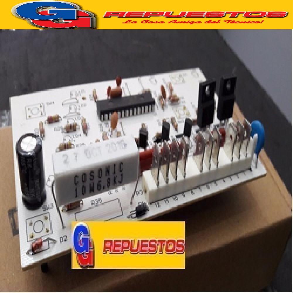 PLAQUETA LAVARROPAS DREAN CONCEPT ELECTRONIC 156 (LED) PALA BOTONES ALTO ALTA TIPO MC