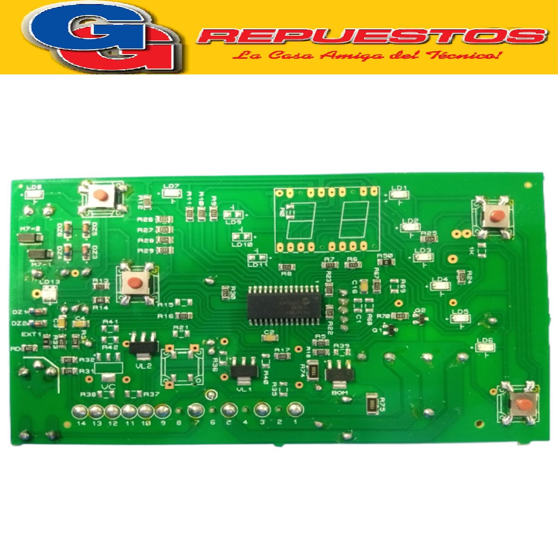 PLAQUETA LAVARROPAS DREAN CONCEPT ELECTRONIC 156 (LED CON PINES) SMD TIPO MC