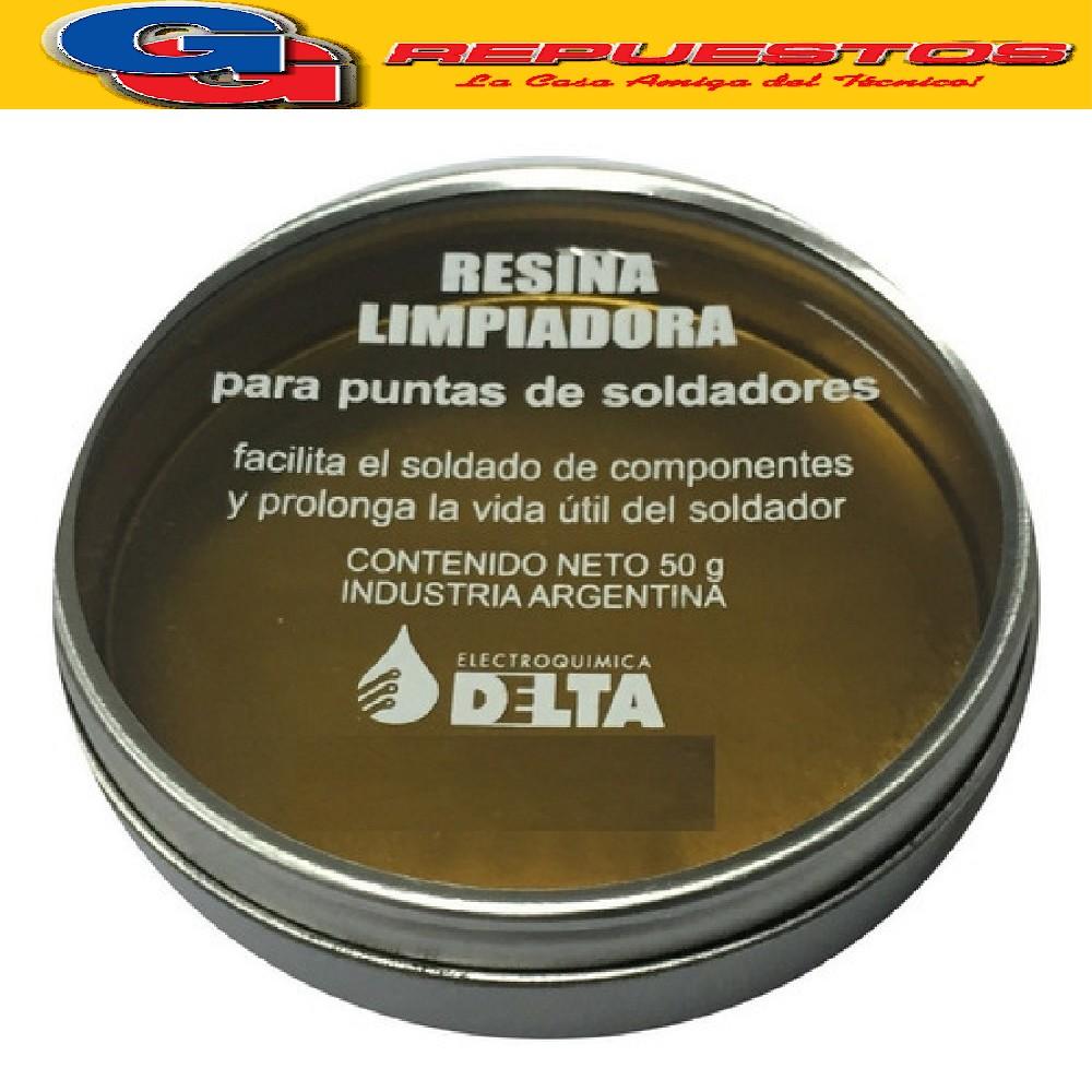 RESINA P/Limpiar Punta Soldador 50g