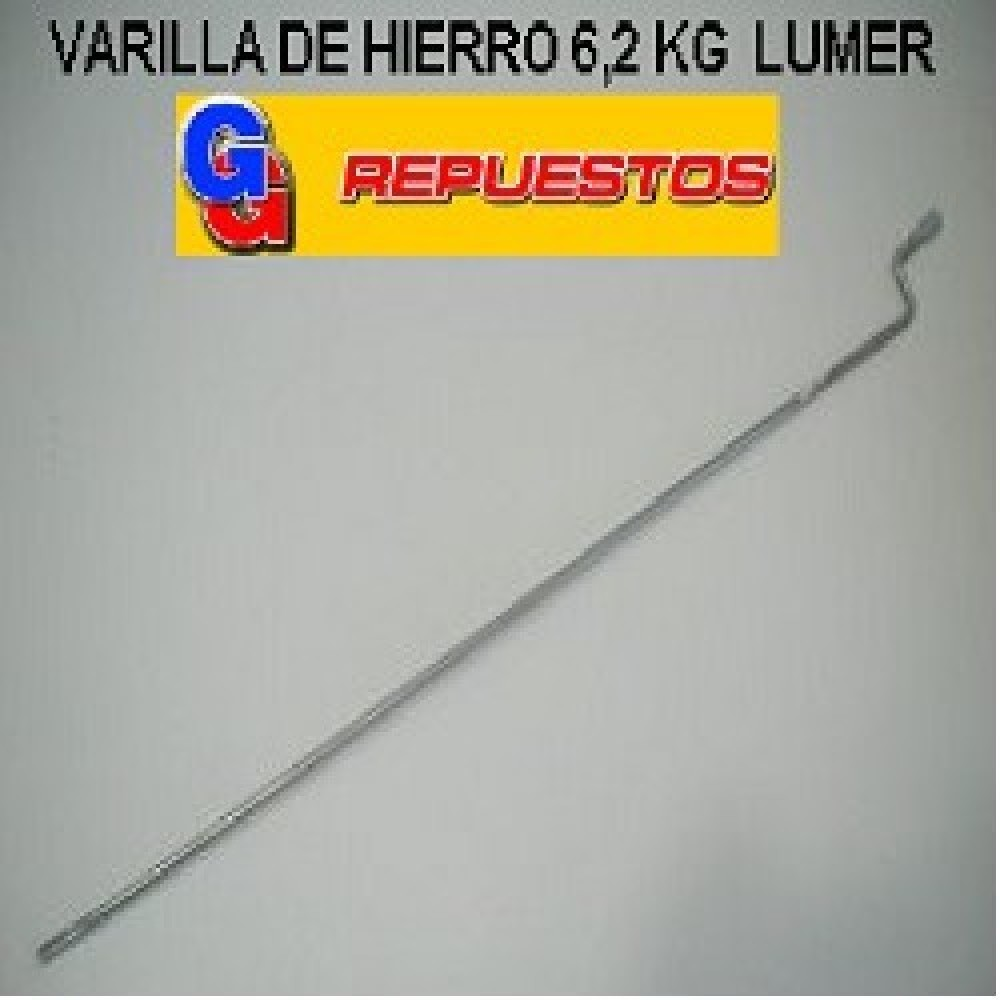 VARILLA HIERRO 6.2 KG SECARROPA PEABODY STANDAR ELECTRIC LUMER COVENTRY SCB 6100