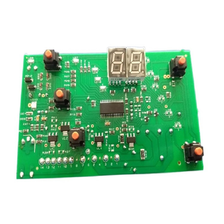 PLAQUETA LAVARROPAS DREAN CONCEPT FUZZY LOGIC 206 TIPO COPIA MC BOTONES ALTOS CON PINES MC-L07