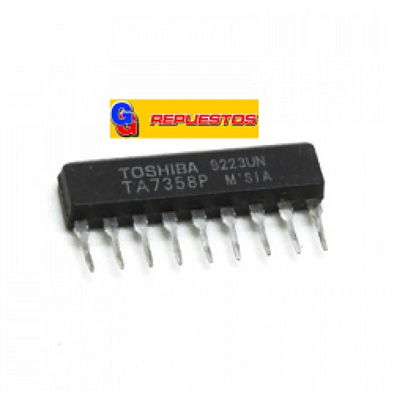 CIRCUITO INTEGRADO TA7358P TA7358AP