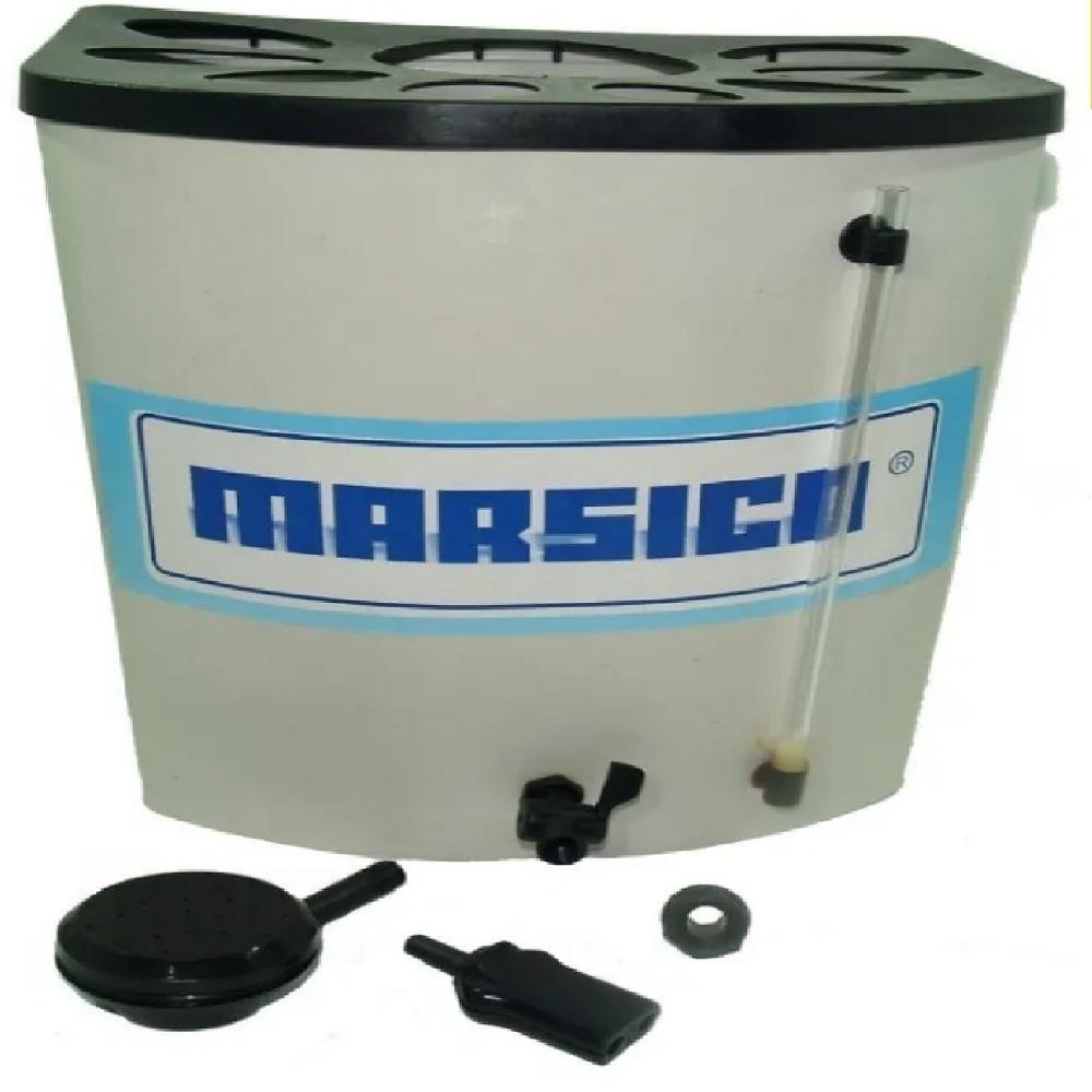CALEFON ELECTRICOS 20 LTS PVC MARSICO (RESISTENCIA BRONCE)